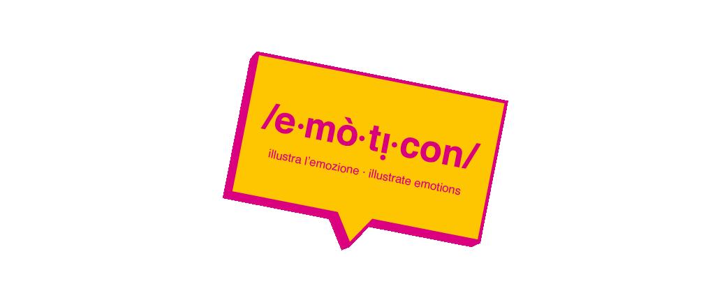 /e.mò.ti.con/ illustra l'emozione